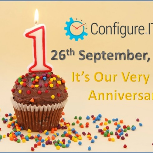 Configure. IT First Year Celebration