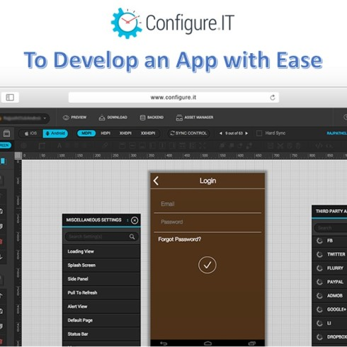 ConfigureIT To develop an app with ease