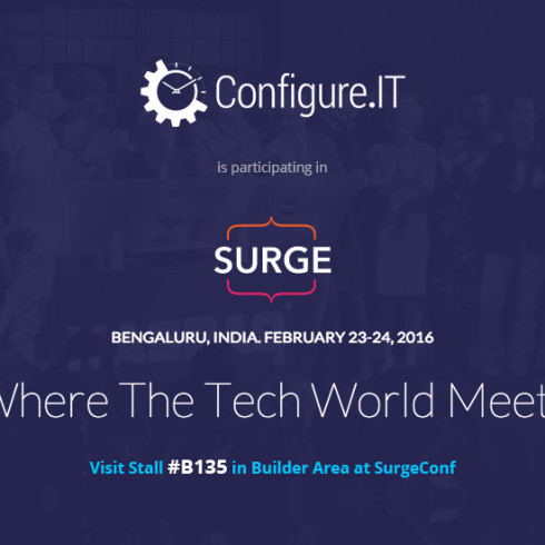 ConfigureIT at Surge with Stall Number