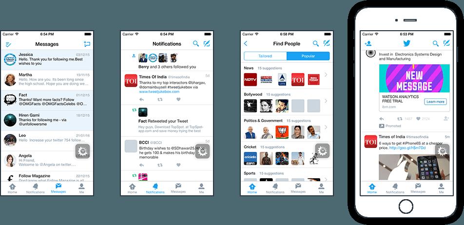 Twitter-Concept